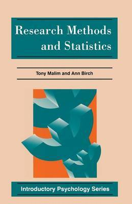 Research Methods and Statistics by Ann Birch image
