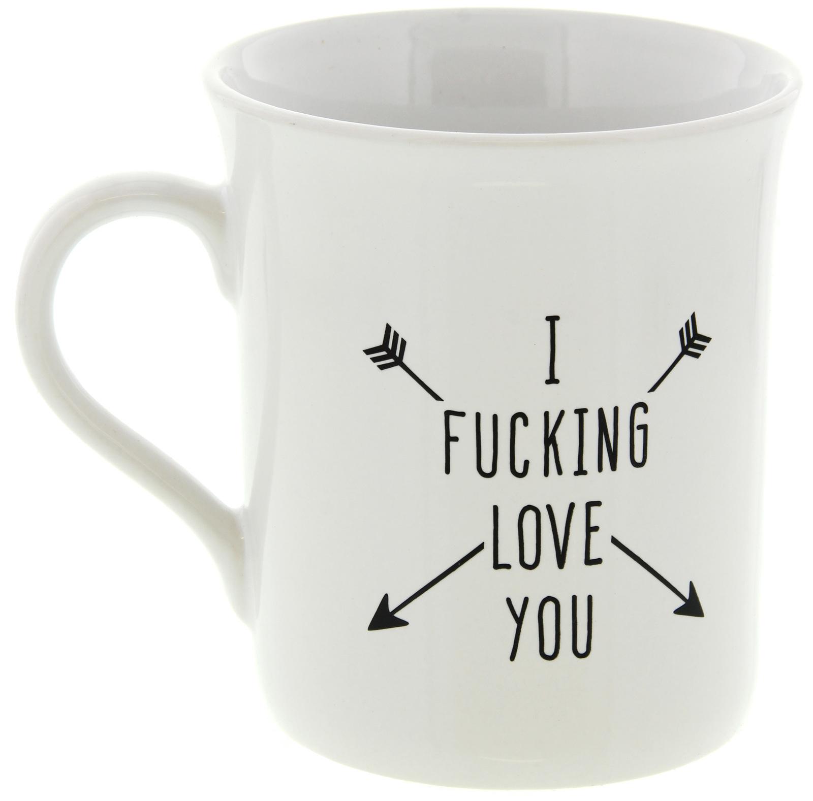 I F*cking Love You Mug image