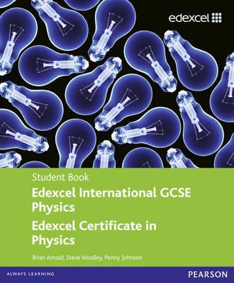 Edexcel IGCSE Physics Student Book by Pennny Johnson image