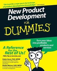 New Product Development For Dummies by Robin Karol