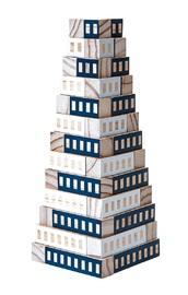 Areaware: Blockitecture - Blue Tower Set