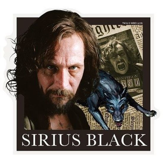 Harry Potter: Travel Sticker 5 Sirius Black