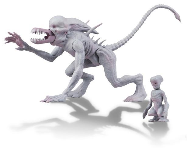 Alien vs Predator: Neomorph & Baby - 5.5″ Classic Action Figure