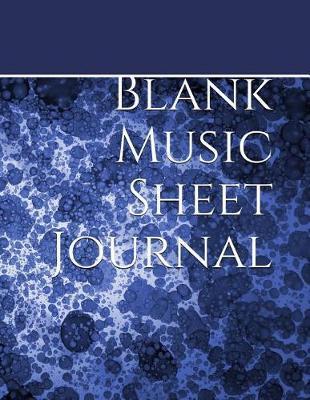 Blank Sheet Music Journal by Songwriting Journal Sh Notebook Designs