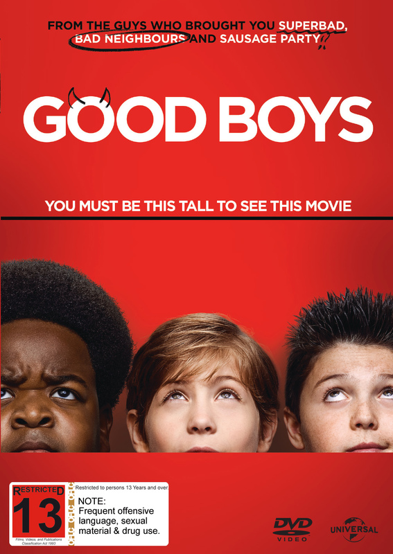 Good Boys on DVD