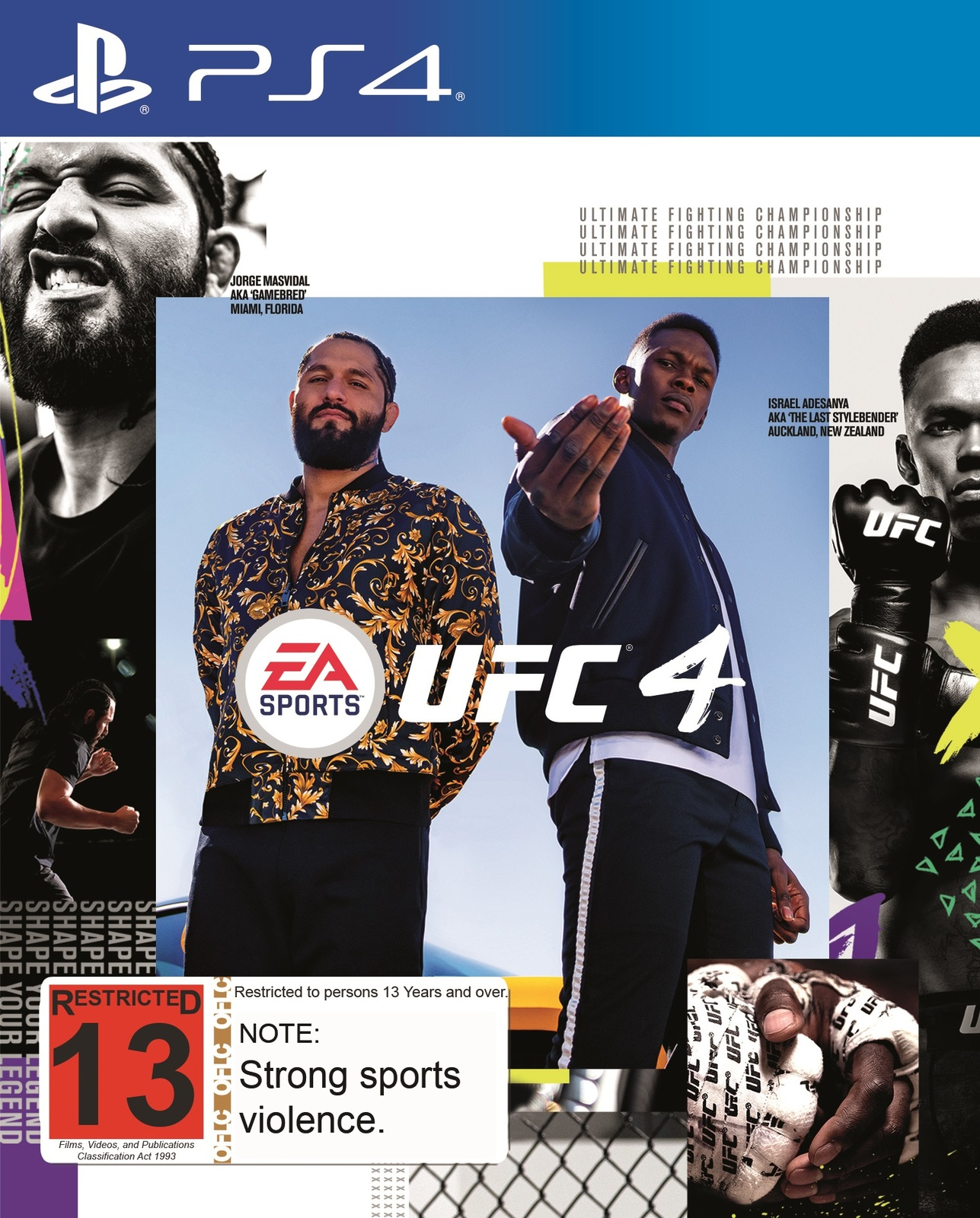 EA Sports UFC 4 for PS4 image