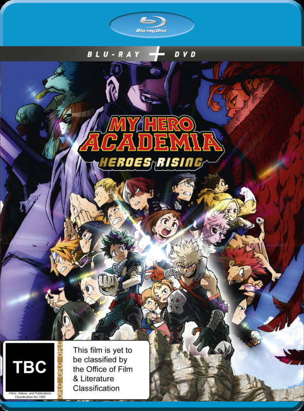 My Hero Academia: The Movie - Heroes Rising (DVD / Blu-ray Combo) on Blu-ray