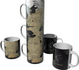Game of Thrones Westeros Map Mugs - Set of 3
