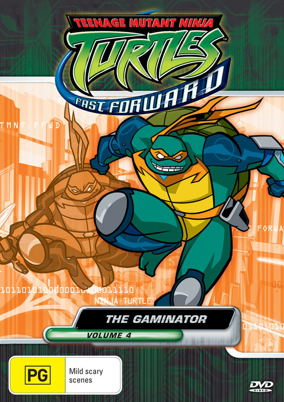 Teenage Mutant Ninja Turtles - Fast Forward: Vol. 4 - The Gaminator on DVD