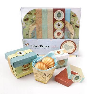 Natural Curiosities Box of Boxes: Everything You Need to Create Exquisite Gift Packages by Potter Style