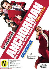 Anchorman SE / Wake Up Ron Burgundy (3 Disc Set) on DVD