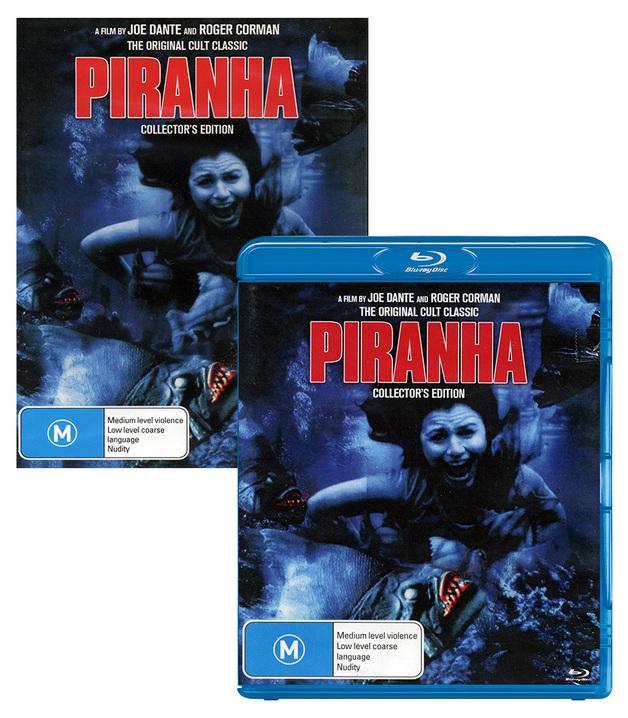 Piranha - Double Play on DVD, Blu-ray