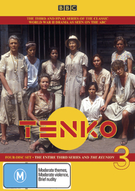 Tenko - The Entire 3rd Series and The Reunion (4 Disc Set) on DVD