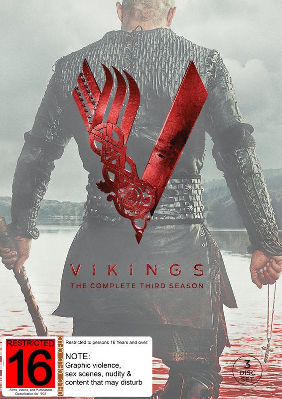 Vikings - The Complete Third Season on DVD