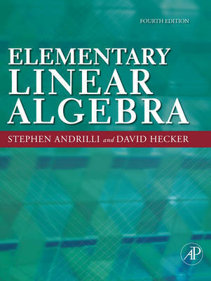 Elementary Linear Algebra by Stephen Andrilli image