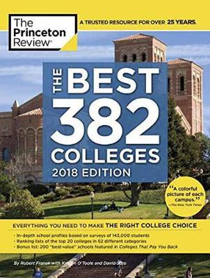 Best 381 Colleges, 2018 Edition by Princeton Review image