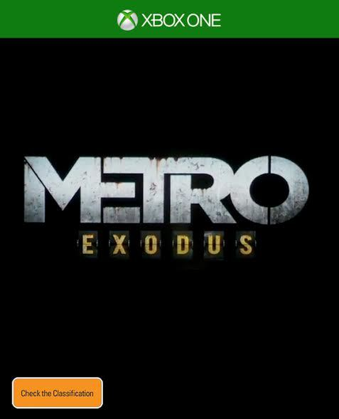 Metro Exodus for Xbox One image