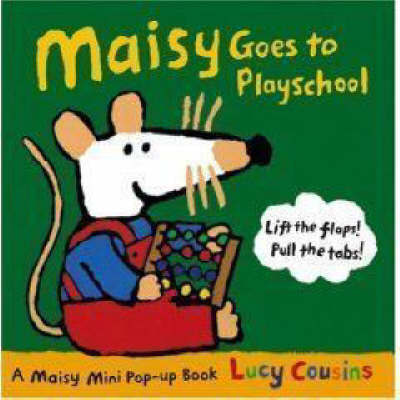 Maisy Goes To Playschool Mini by Lucy Cousins image