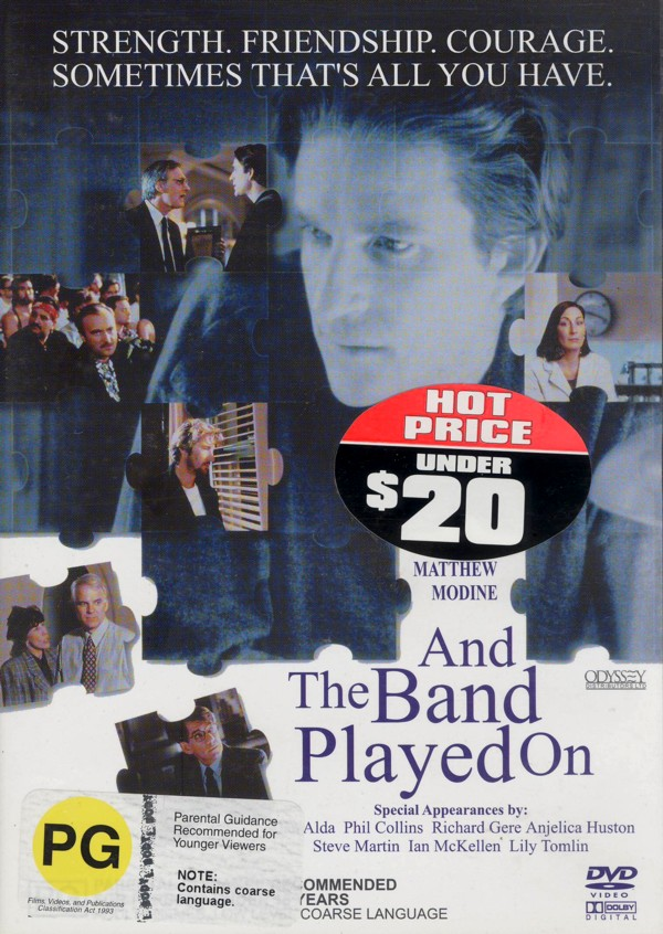 And The Band Played On on DVD image