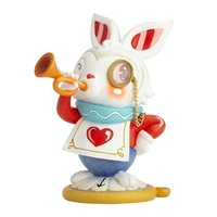 The World of Miss Mindy Alice in Wonderland White Rabbit Statue