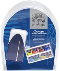 Winsor & Newton: Cotman Watercolour Mini Plus Set