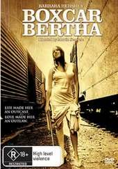 Boxcar Bertha on DVD