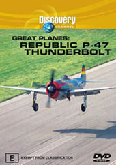 Great Planes Republic P-47 Thunderbolt on DVD