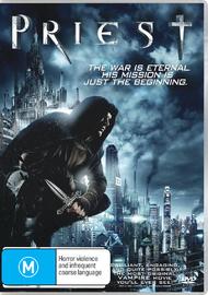 Priest DVD image