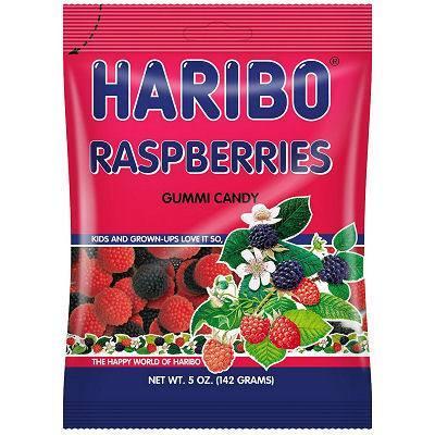 Haribo Raspberries - 142g image