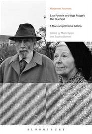 Ezra Pound's and Olga Rudge's The Blue Spill by Ezra Pound