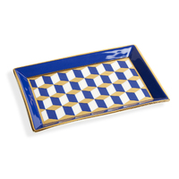 Jonathan Adler Rectangle Tray (Versailles, Marine Blue)
