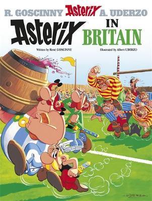 Asterix in Britain: Bk 8 by Rene Goscinny image