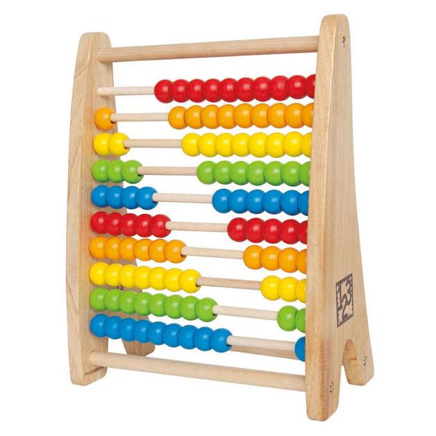 Hape: Rainbow Bead Abacus