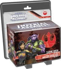 Star Wars: Imperial Assault: Sabine Wren & Zeb Orrelios - Ally Pack