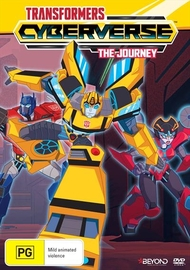 Transformers Cyberverse: The Journey on DVD image