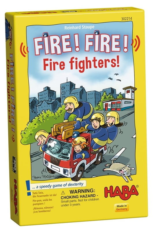 Fire! Fire! Fire fighters! - Children's Game