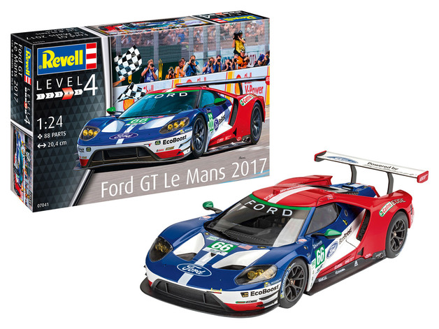 Revell: Ford GT Le Mans 2017 - 1:24 Scale Model Kit