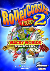 Rollercoaster Tycoon 2: Wacky Worlds for PC Games