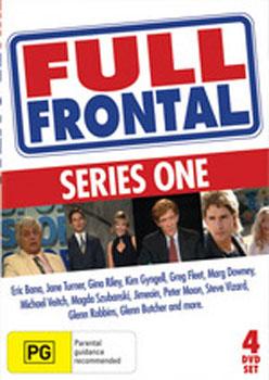 Full Frontal - Series 1 (4 Disc Set) on DVD image