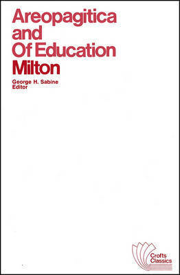 Areopagitica and Of Education by John Milton