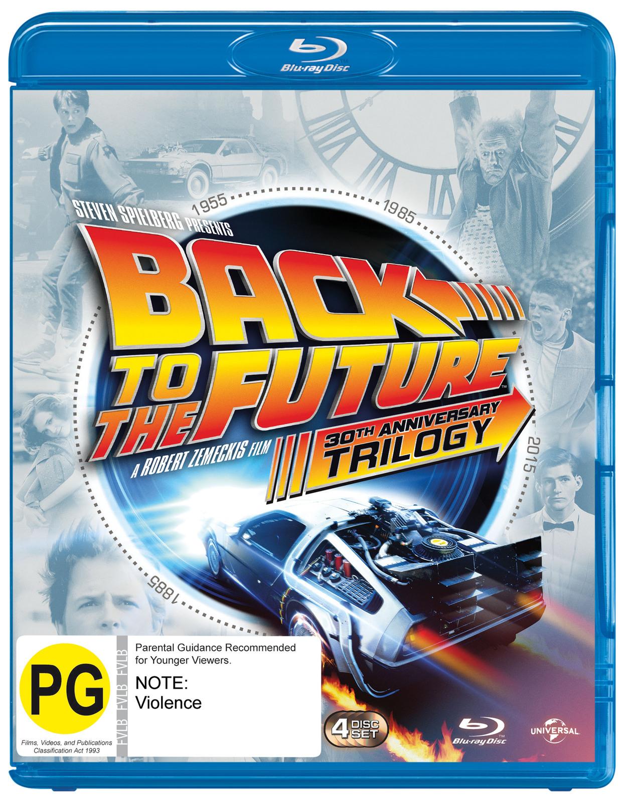 Back To The Future Trilogy Set (Bonus Disc) on Blu-ray image