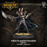 Warmachine: Cryx - Pirate Queen Skarre Warcaster
