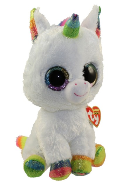 Ty Beanie Babies: Pixy Unicorn - Medium Plush