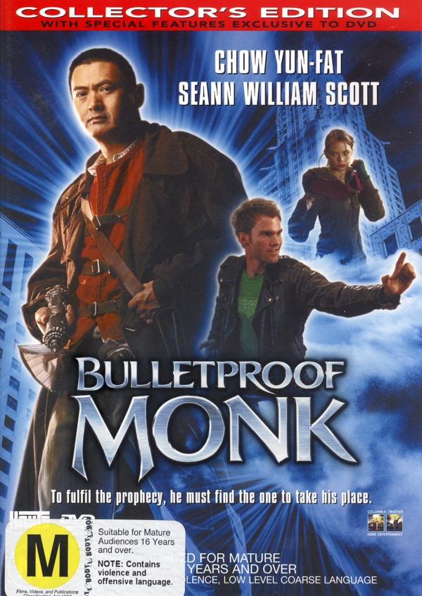 Bulletproof Monk on DVD image