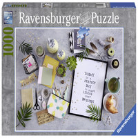 Ravensburger : Start living your dream Puz (1000 Pcs)