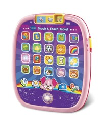 Vtech: Touch & Teach Tablet - Pink