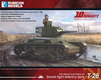 Rubicon 1/56 Soviet T-26 Light Infantry Tank