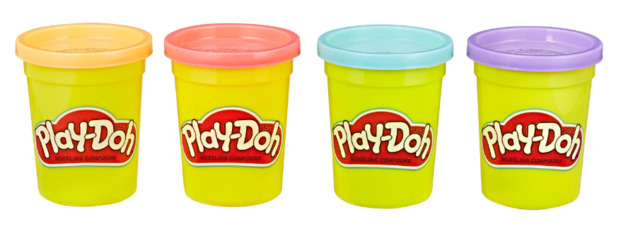 Play Doh: Sweet Colours - 4 Pack