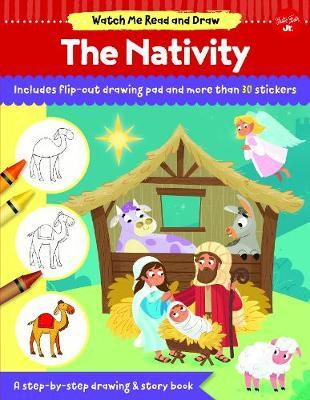 Watch Me Read and Draw: The Nativity by Walter Foster Jr Creative Team