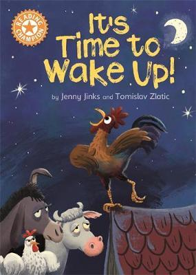 Reading Champion: It's Time to Wake Up! by Jenny Jinks image